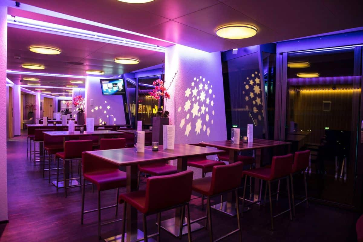 The VIP Star Lounge Club at the Hallenstadion