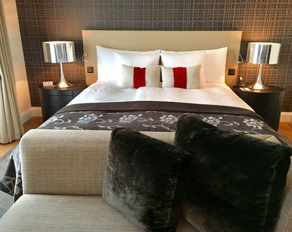 Bedrooms at the Hotel Schweizerhof Bern