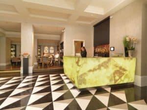 Reception at the Hotel Schweizerhof Bern
