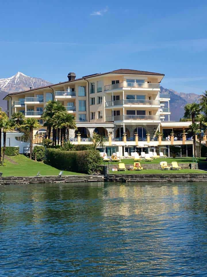 A taste of paradise at the Hotel Eden Roc Ascona