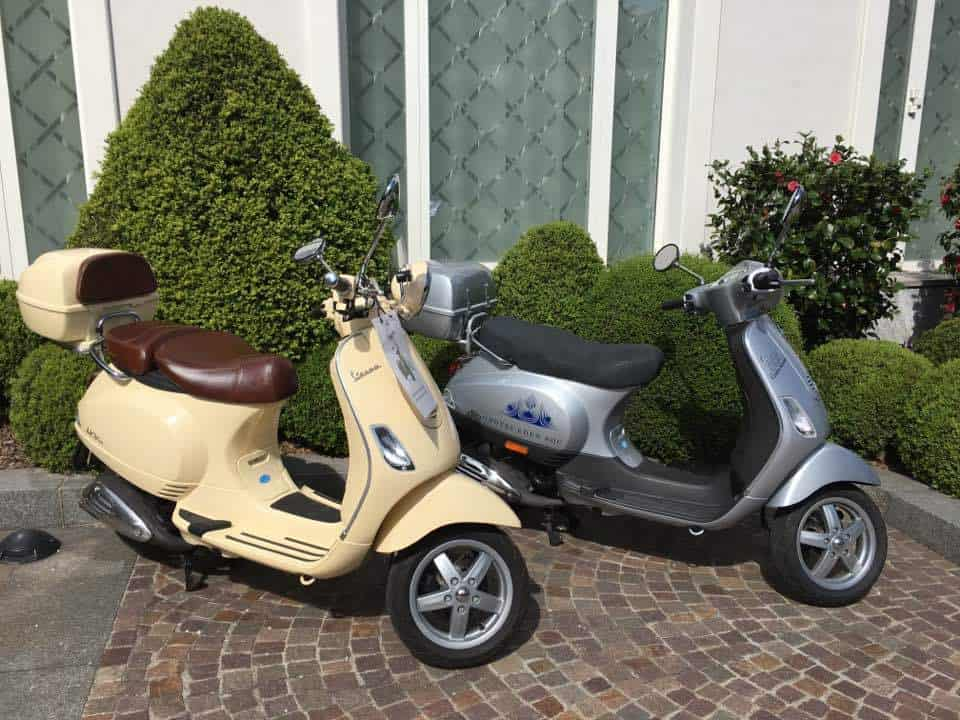 Vespas at the Hotel Eden Roc Hotel