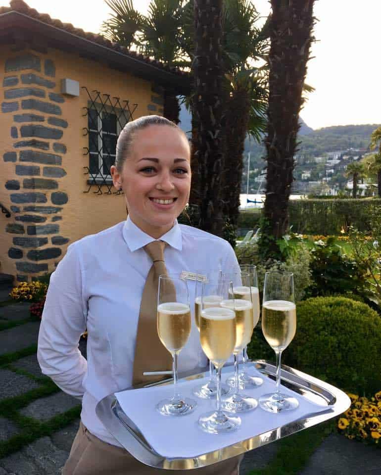 Restaurant Cassetta Hotel Eden Roc Hotel Ascona