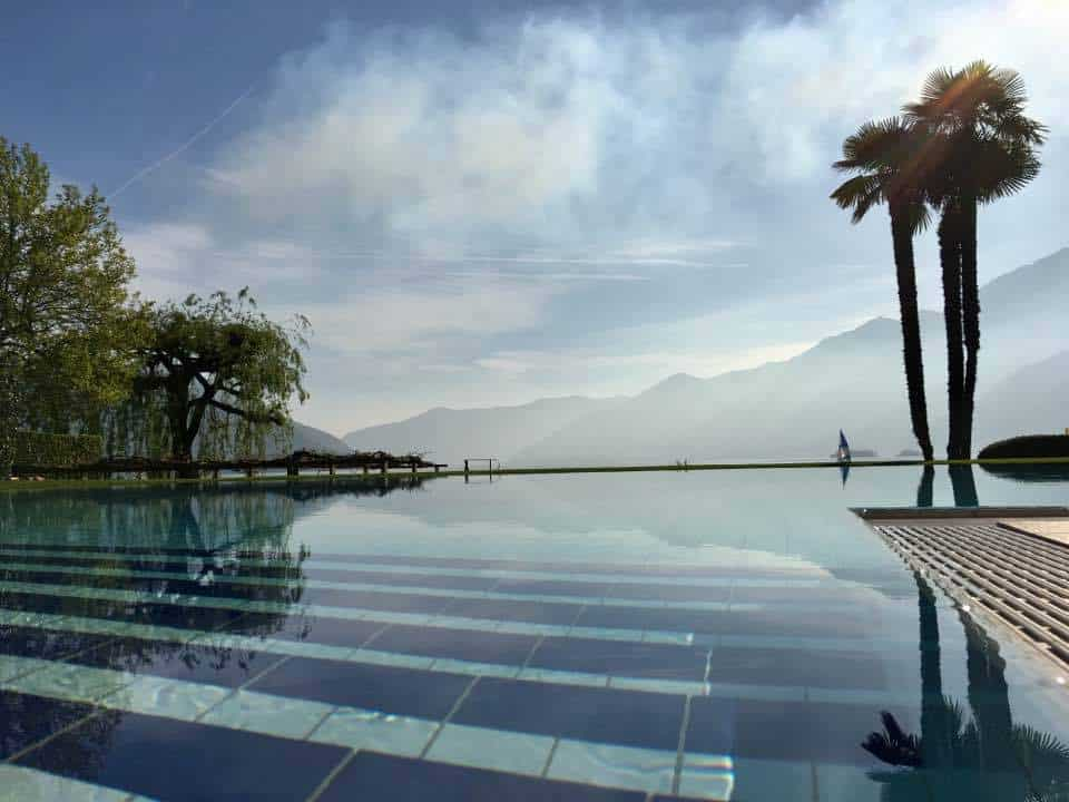 A taste of paradise at the Eden Roc Hotel Ascona