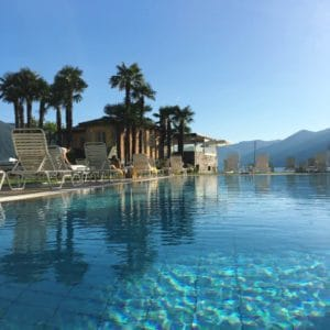 Paradise in Ascona at the Eden Roc Hotel