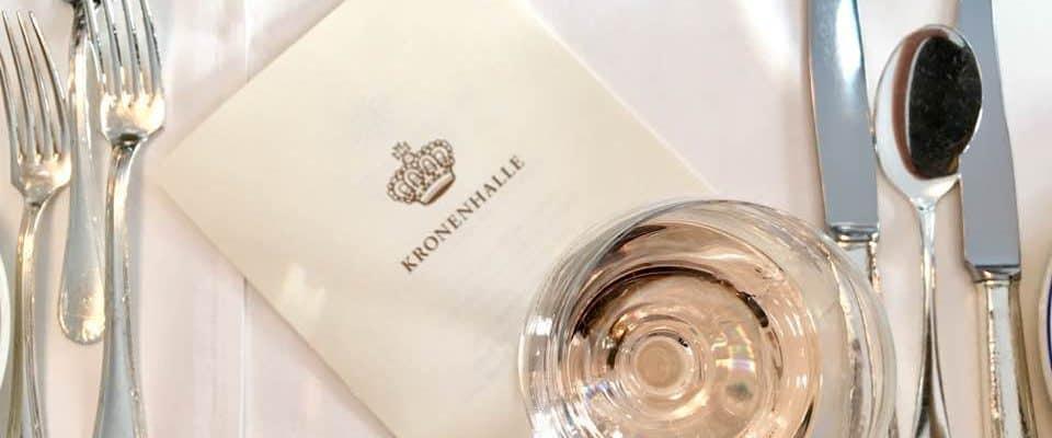 Tasting Les Vignobles de Berne at the Kronenhalle Zurich