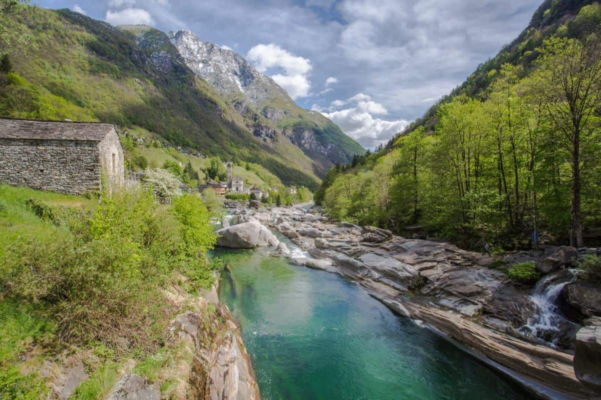 The turquoise beauty of Valle Verzasca Ticino