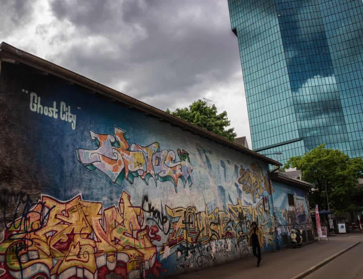 Graffiti in Zurich