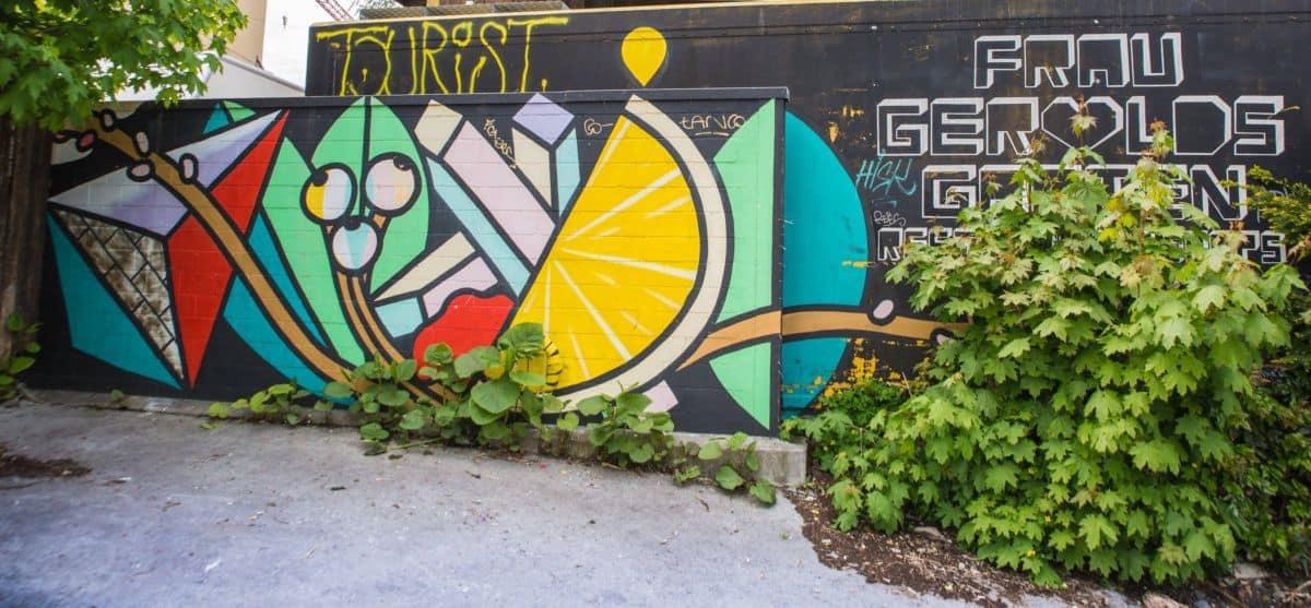 Frau Gerolds Garten Graffiti