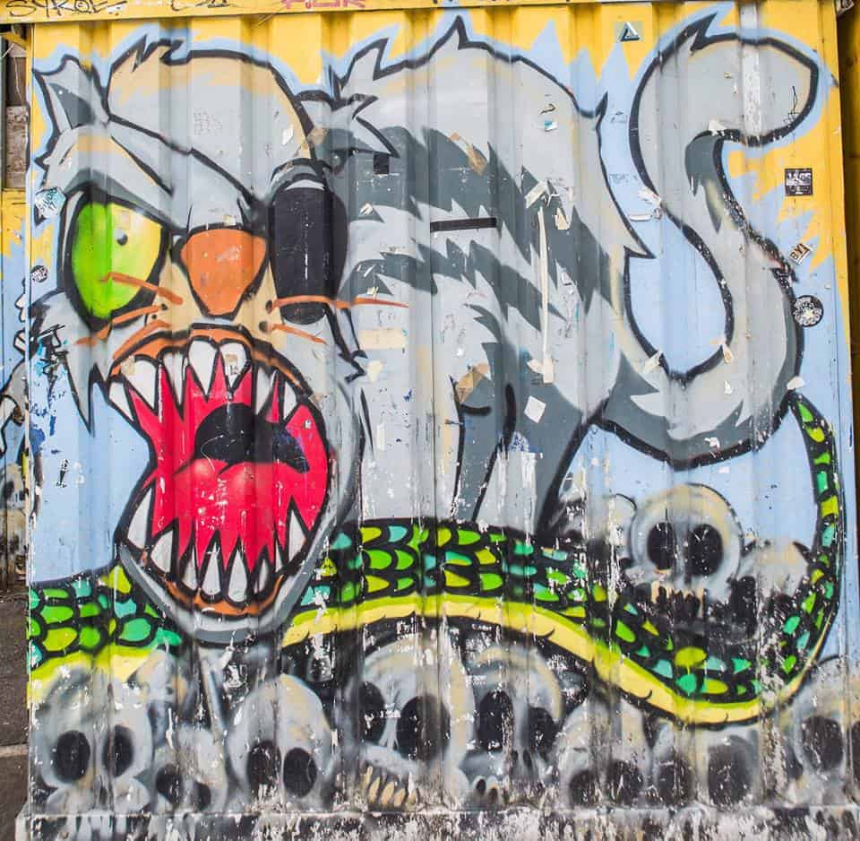 Zurich's Colourful Street Art and Graffiti