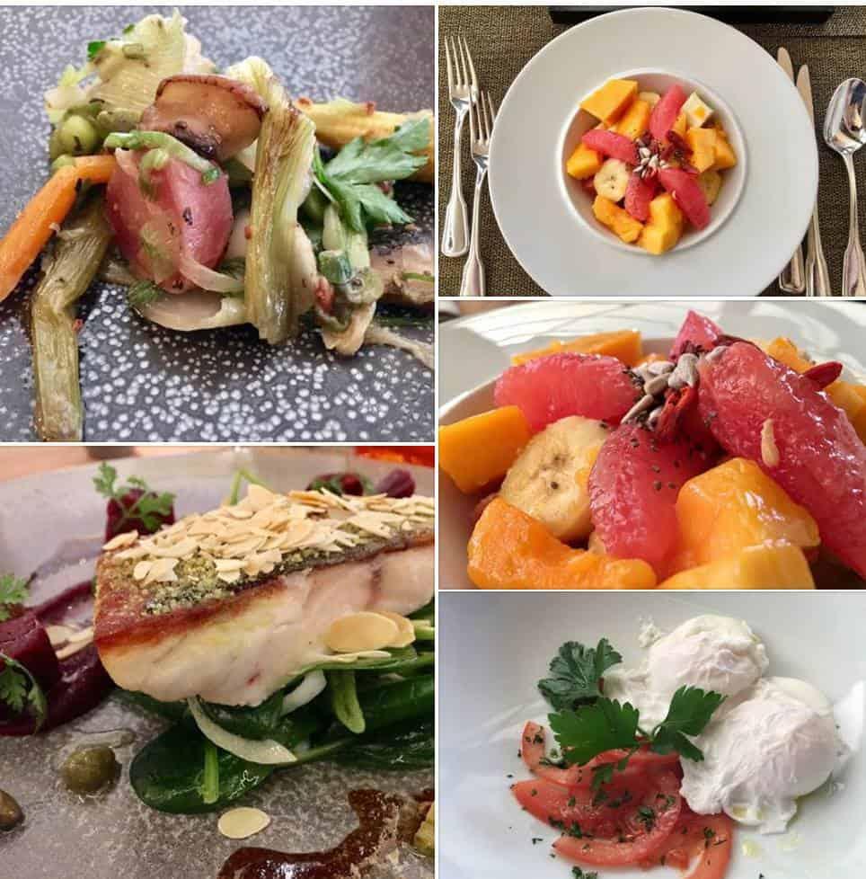 Dinner and breakfast at Hotel Giardino Ascona