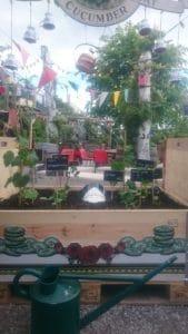 Frau Gerolds Garten's CucumBar with Hendrick's