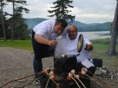 Alain Bossé The Kilted Chef at the Park Hyatt Zurich