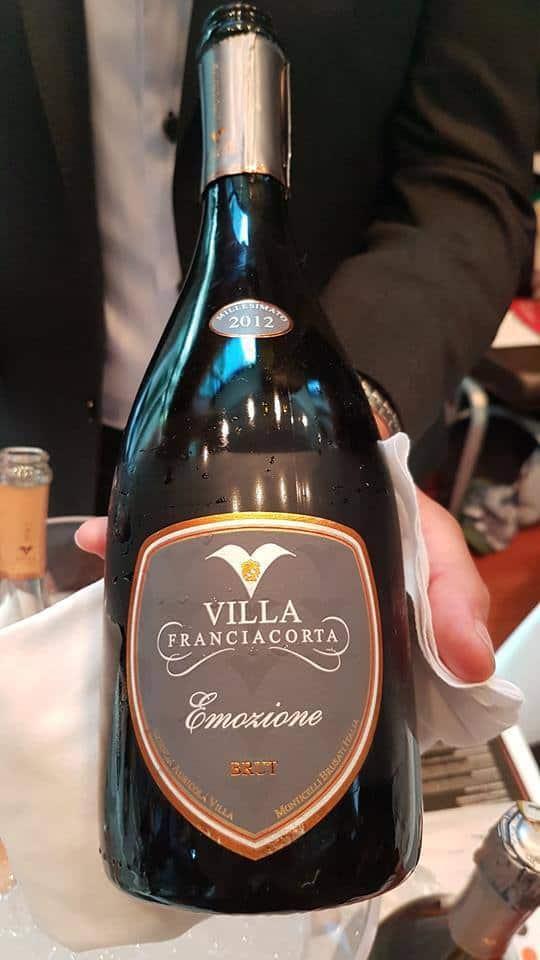 Park Hyatt Hotel Zurich Franciacorta dinner with Vinum