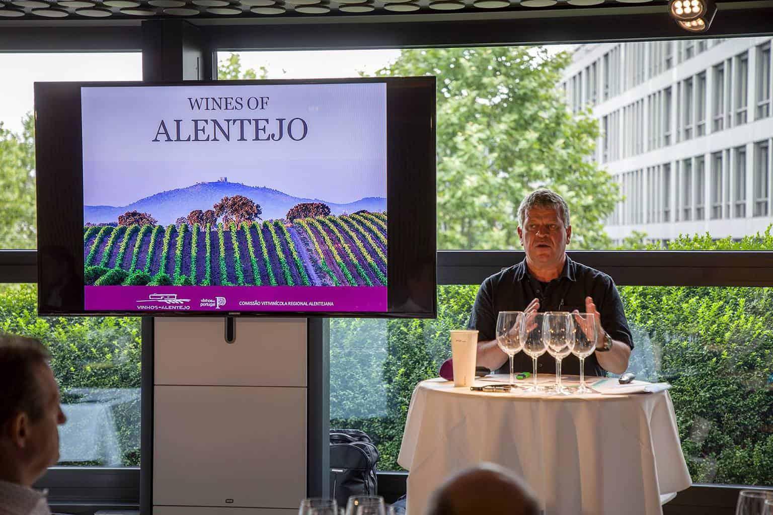 Tasting Alentejo Wines at FIFA Museum Zurich