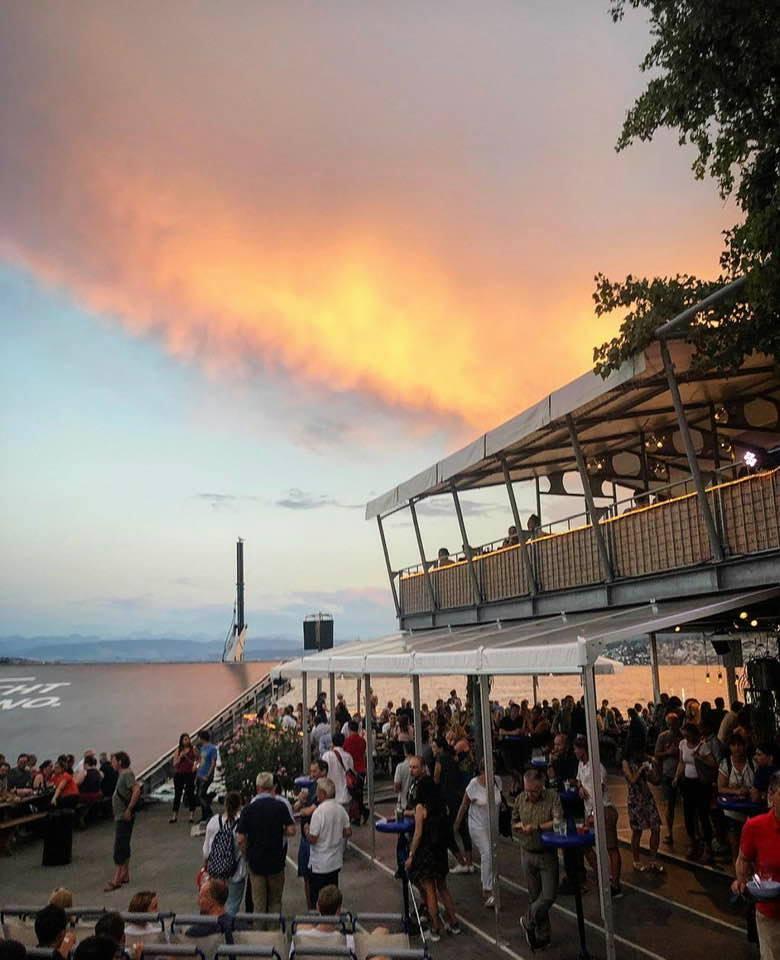 Summer Open Air Cinema in Zurich