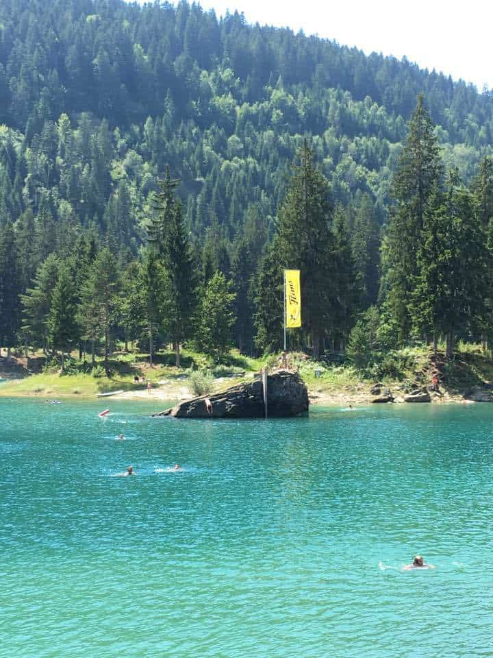 Lake Caumasee Flims Switzerland - The Turquoise Lake
