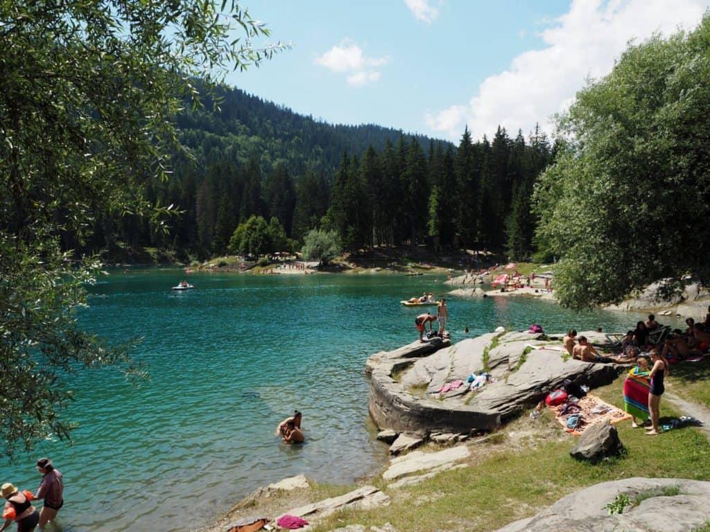 Lake Caumasee Flims Switzerland