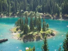 Lake Caumasee Flims Switzerland – The Turquoise Lake