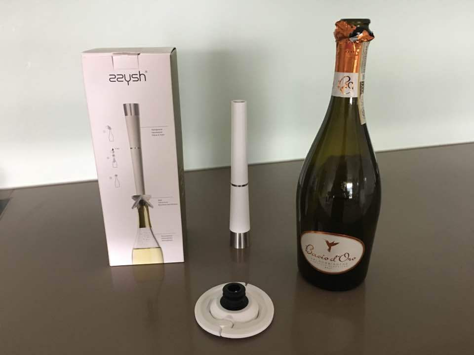 Keep Your Champagne Sparkling with Zzysh