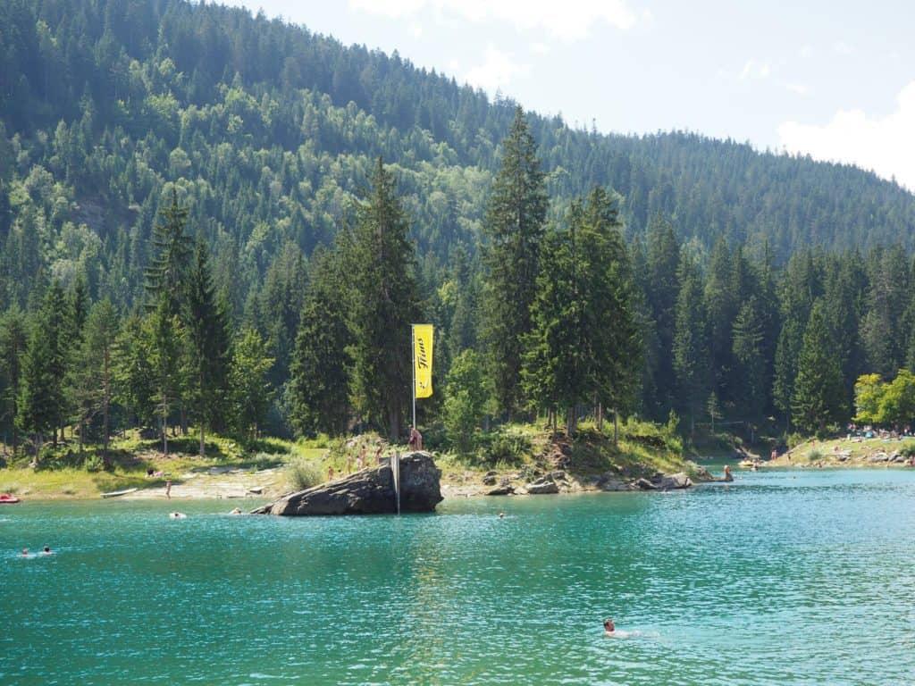 Lake Caumasee Films Switzerland