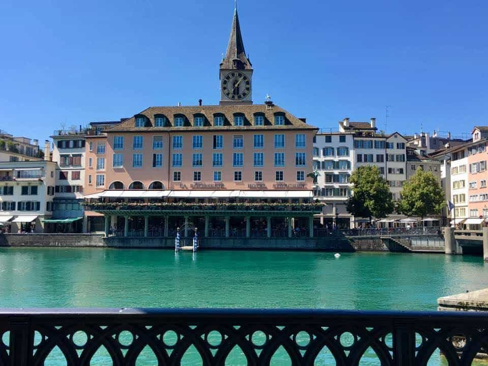 What's On In Zurich End August Early September 2017