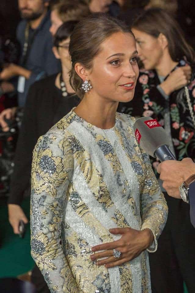 Alicia Vakander at Zurich Film Festival