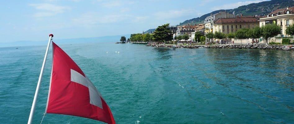 Boat ride on Lac Leman Switzerland