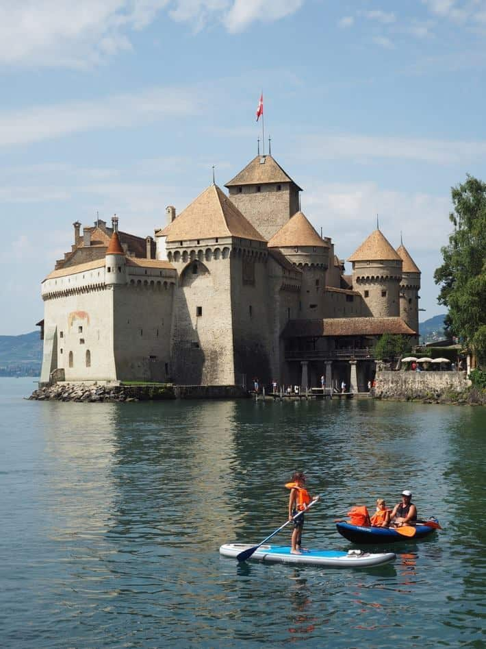Chateau de Chillon Vevey