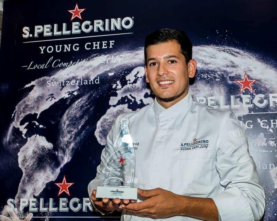 David Wälti wins San Pellegrino Young Chef Swiss Finale