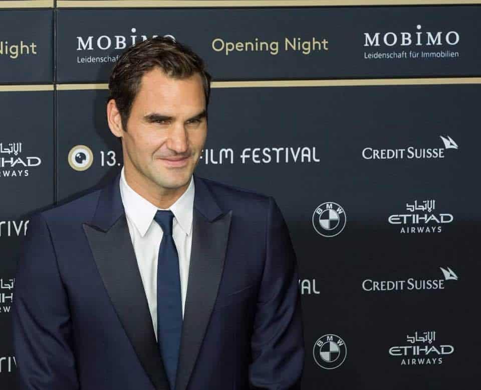 Roger Federer at Zurich Film Festival