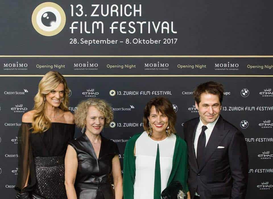 Doris Leuthard at Zurich Film Festival