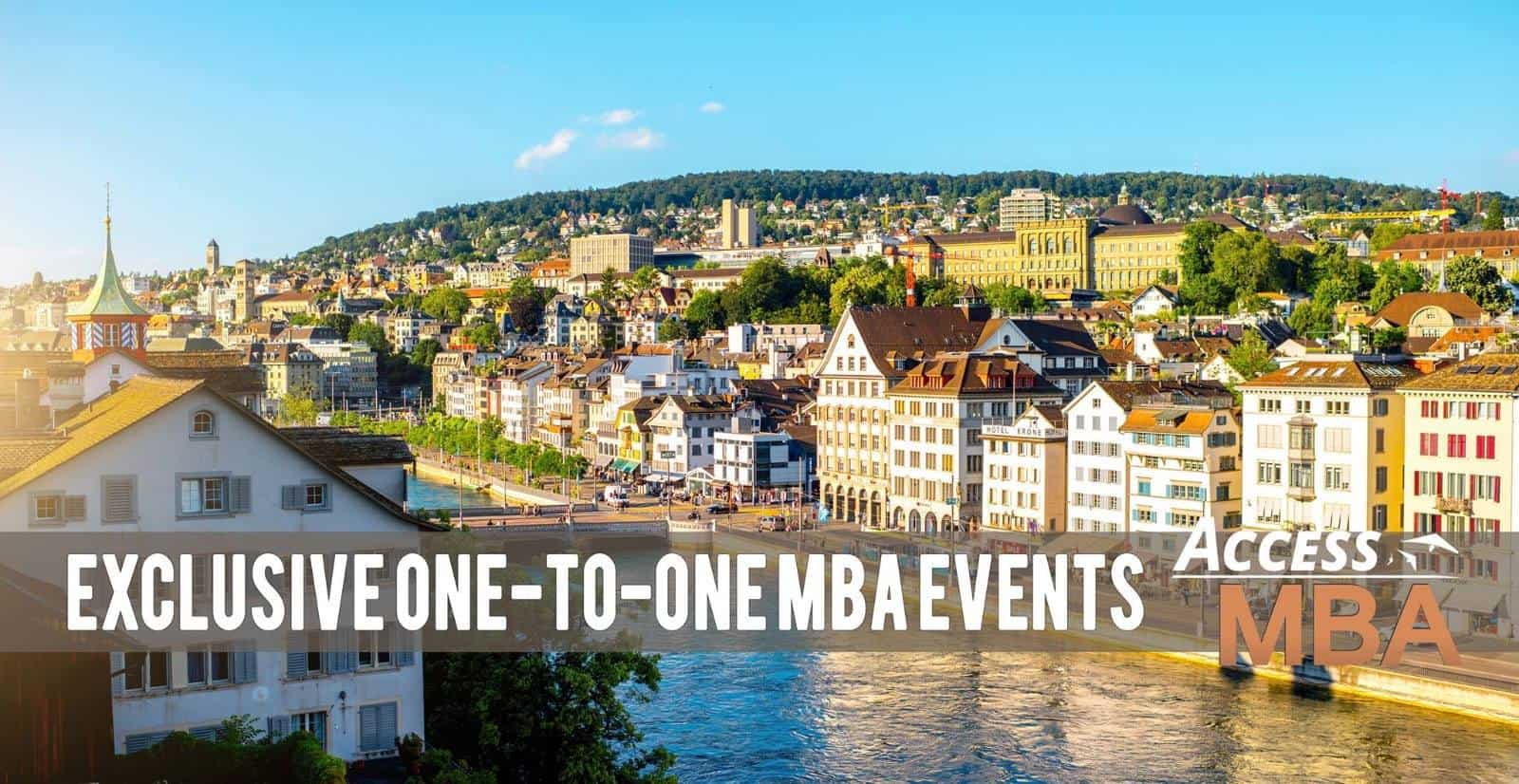 MBA events in Zurich