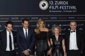 Roger Federer at Zurich Film Festival 2017