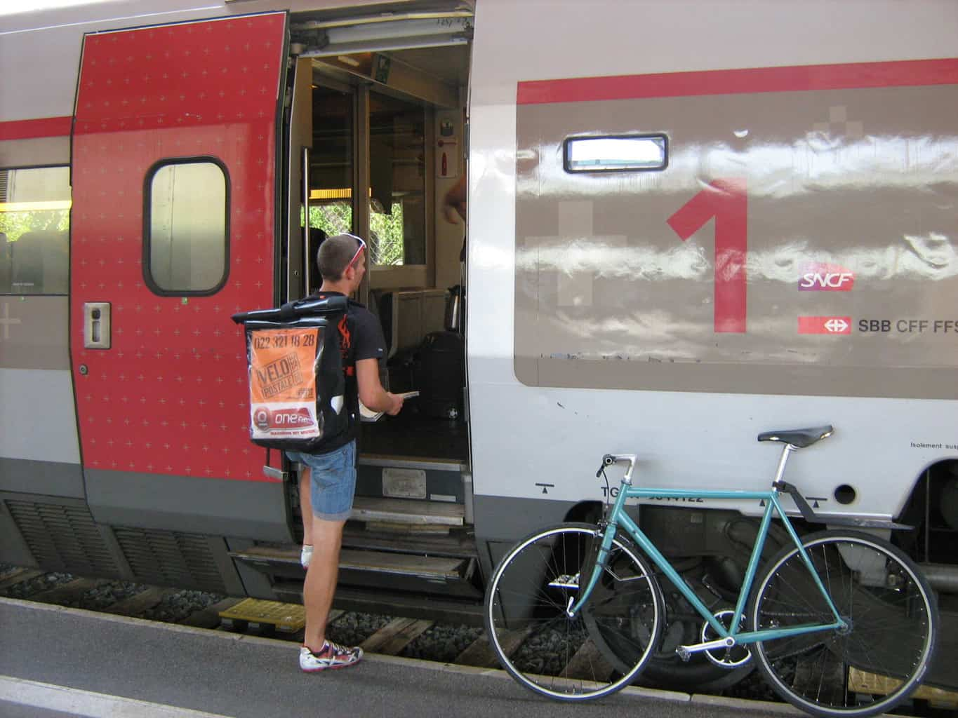 Taking Bikes on the Train