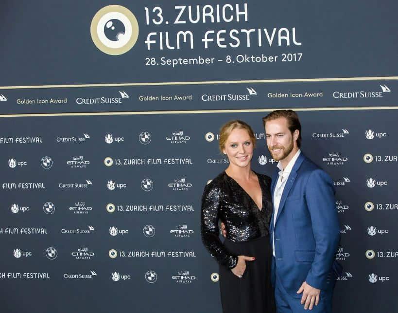 Glenn Close's daughter Annie Starke at Zurich Film festival 2017