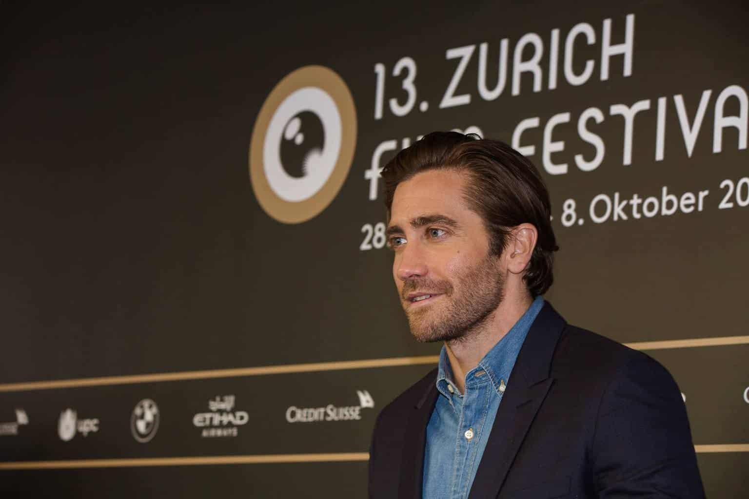 JAKE GYLLENHAAL AT ZFF2017 ZURICH