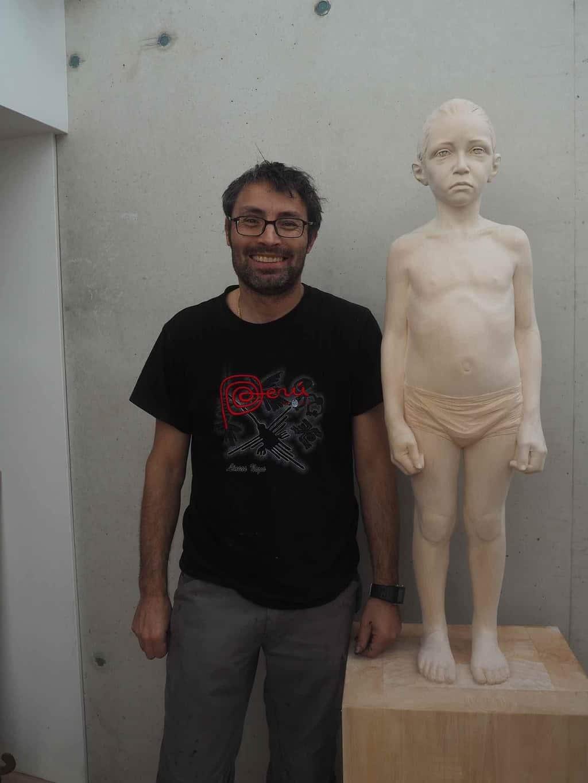 Gehard Demetz artist and sculptor
