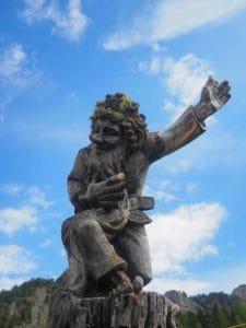 Wooden carvings in Sud Tyrol