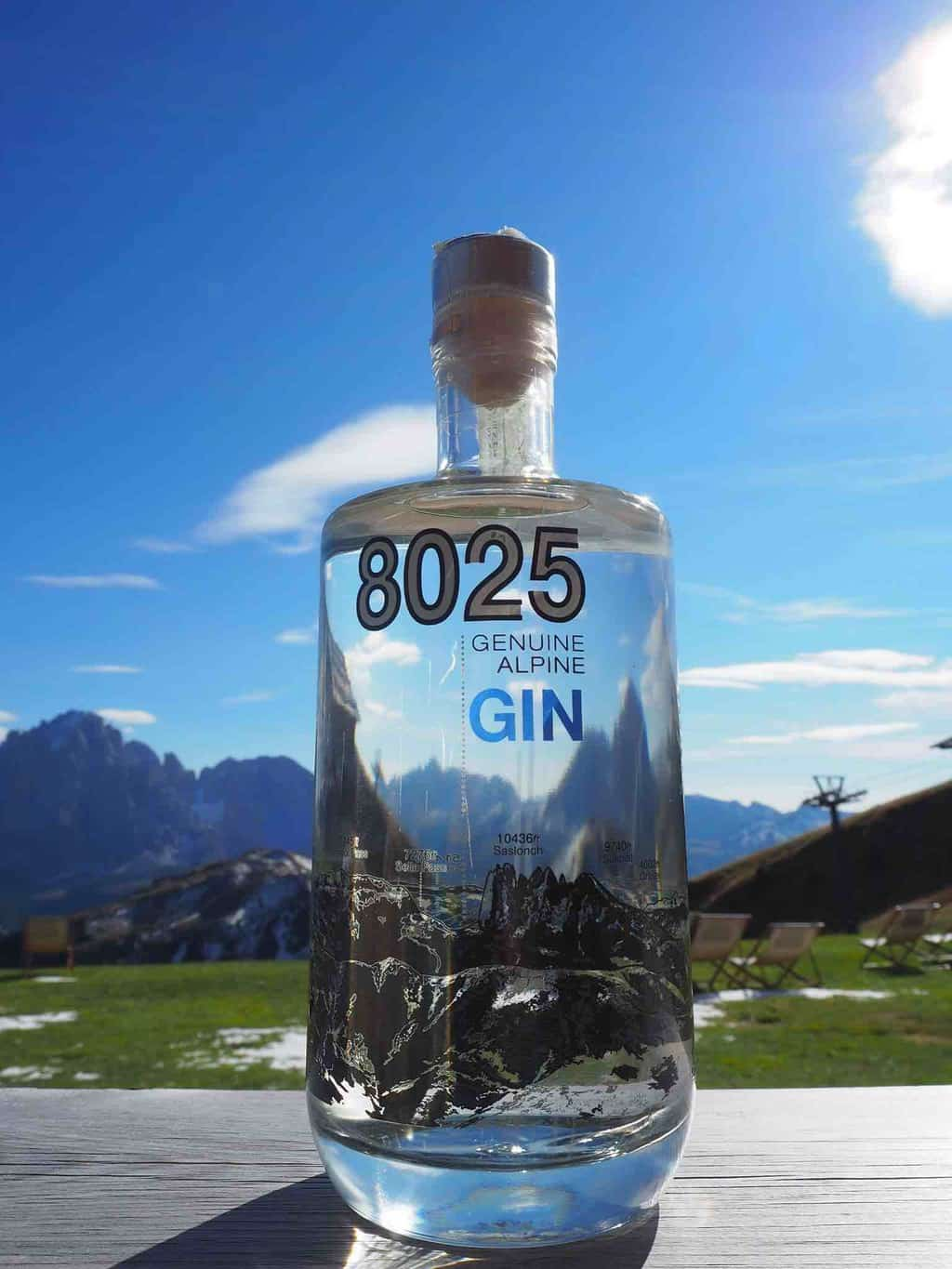 8025 Gin Distillery Dolomites Italy
