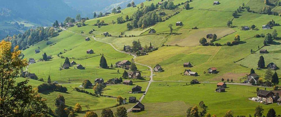 Hiking In the Toggenburg Region of Switzerland