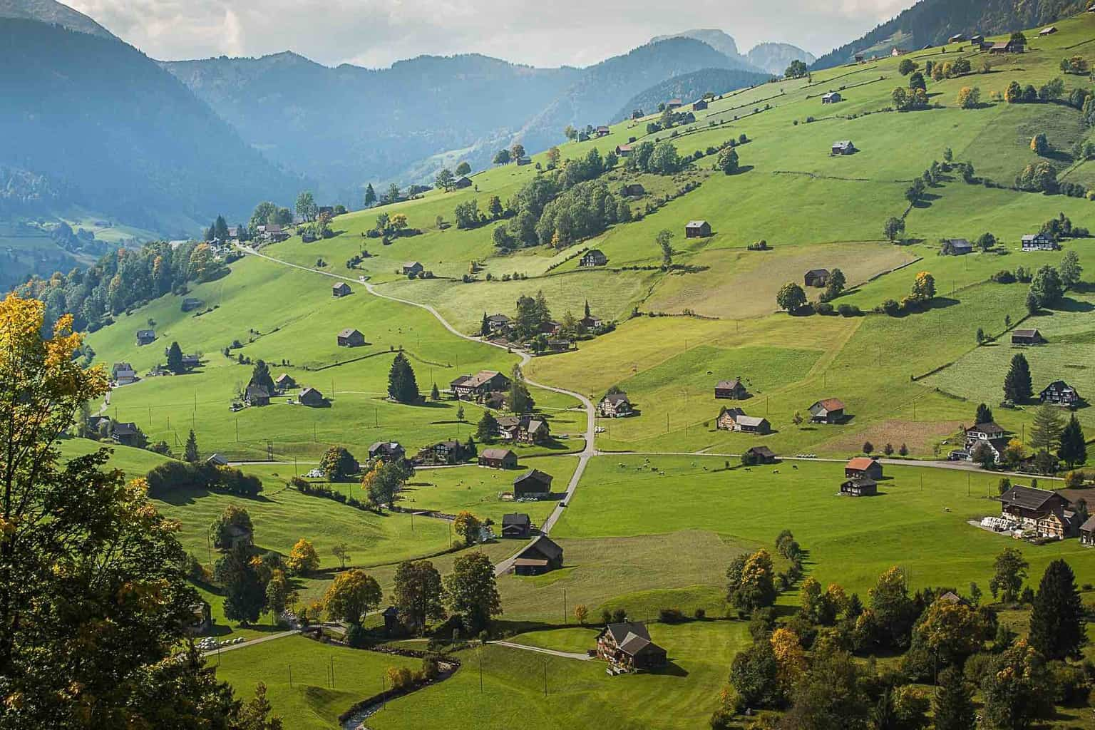 Hiking In the Toggenburg Region of Switzerland