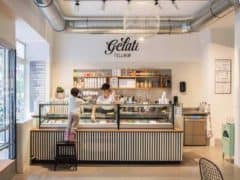 Year Round Delicious Ice Cream at Gelati Tellhof Zurich