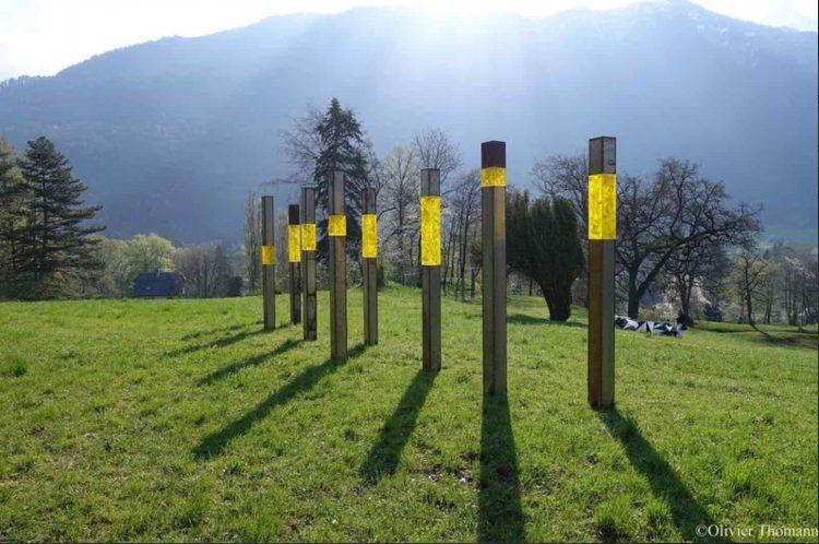 Bex & Arts Industrial Sculpture Exhibition Bex, Vaud