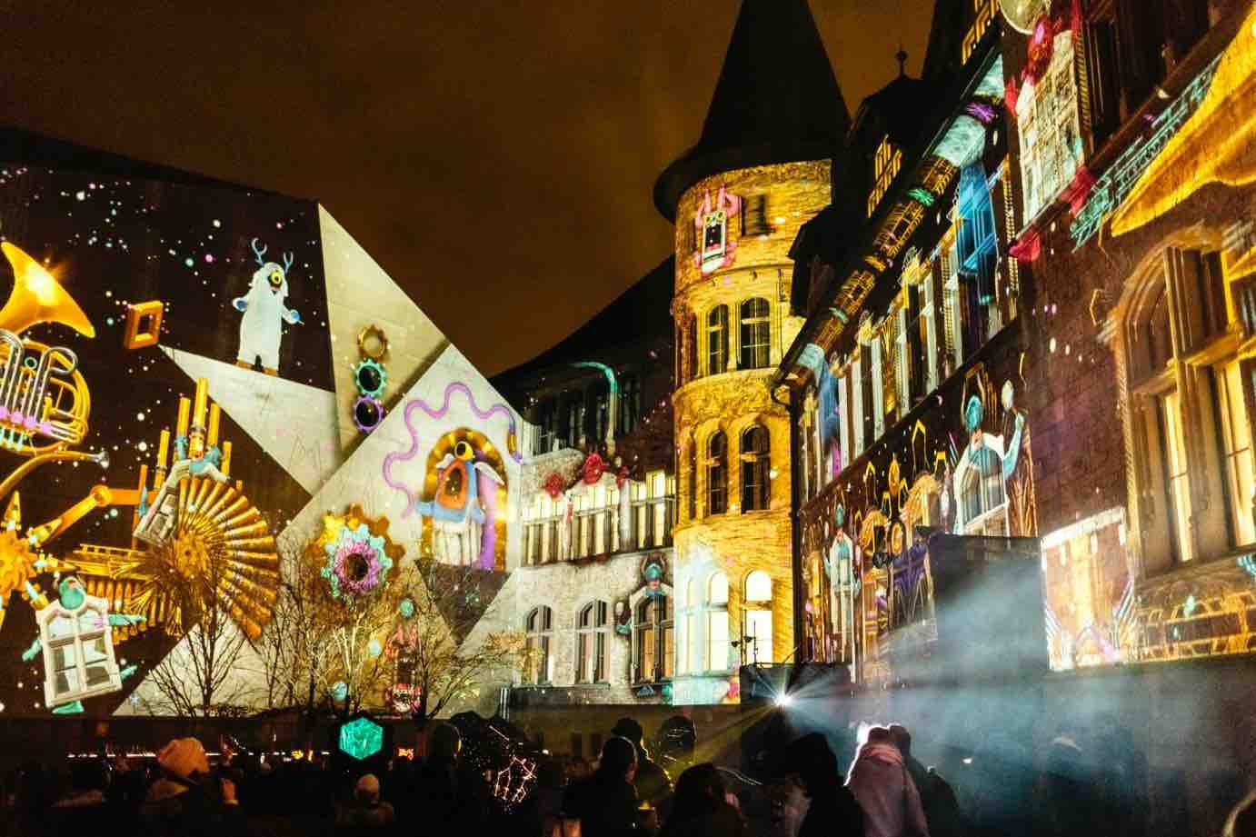 ILLUMINARIUM Light Show at Zurich's National Museum