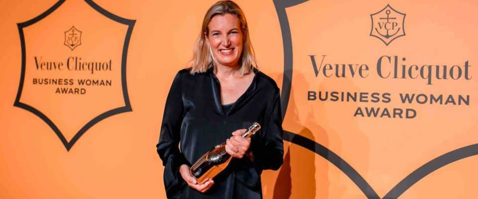 Barbara Lax Winner of The Veuve Clicquot Business Woman Award 2017
