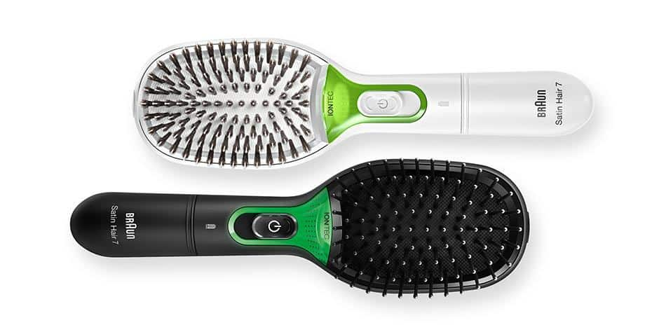 De-Frizz Your Hair with the Braun Smoothing Brush