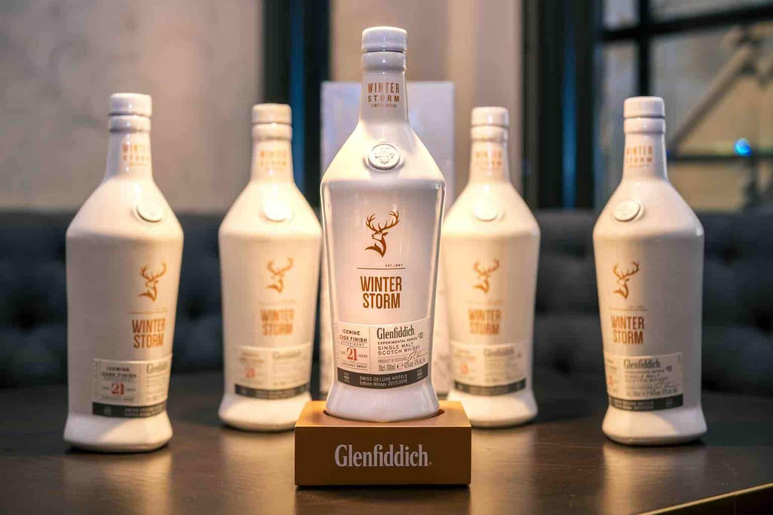 Whisky and Ice: Glenfiddich Winter Storm Lunch