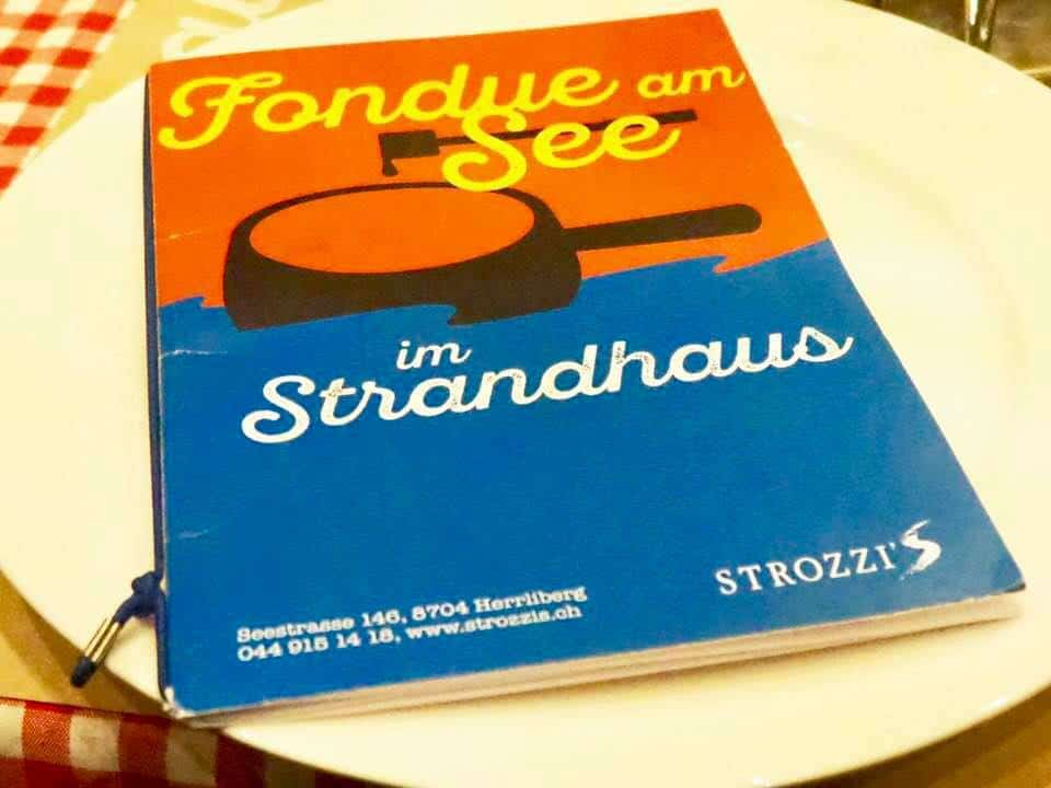 Fabulous Fondue Am See at Strozzi's Strandhaus