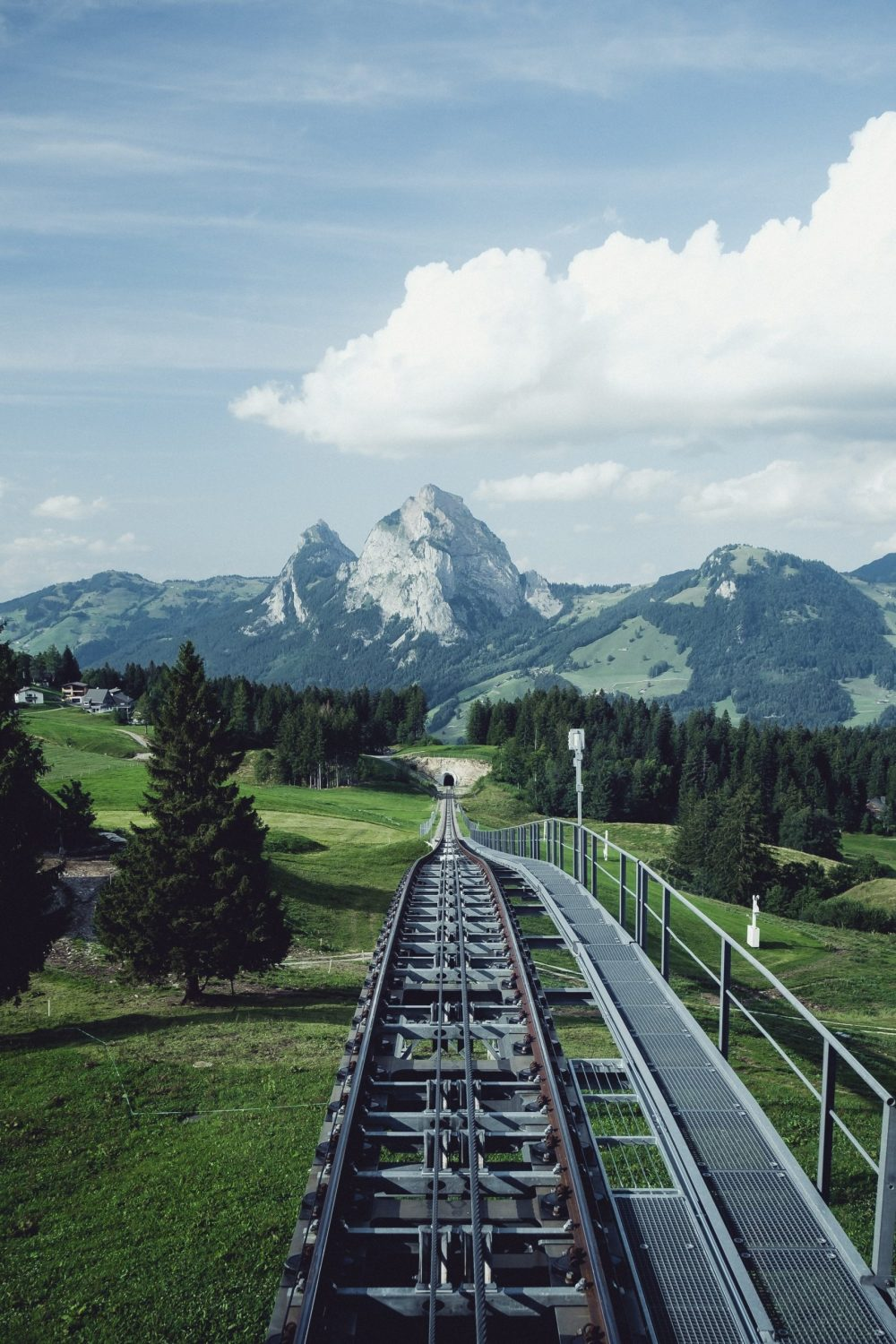 World's Steepest Funicular In Stoos
