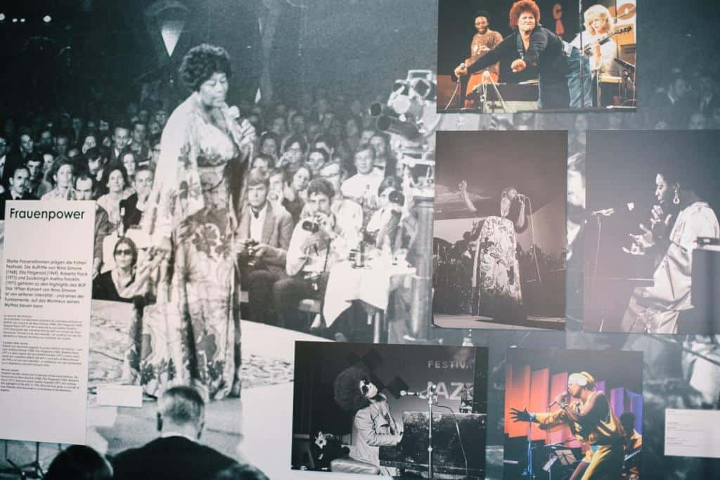 Montreux Jazz Festival Exhibition at Swiss National Museum